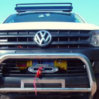VW Amarok Seilwinde mit Einbau