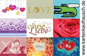 Valentinskarten für Verliebte von Kartenkaufrausch.de