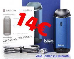 Vaporesso NEXUS AIO Starter Kit 14€ CBD Liquid E-CIG