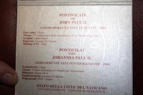 Foto 2 Vatikan 2 EUR Gedenk Münzen ab 2004
