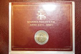 Foto 3 Vatikan 2 EUR Gedenk Münzen ab 2004