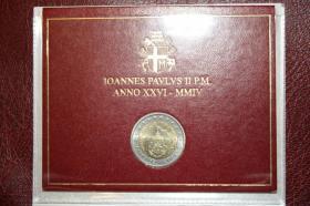 Foto 4 Vatikan 2 EUR Gedenk Münzen ab 2004