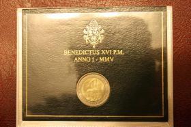 Foto 7 Vatikan 2 EUR Gedenk Münzen ab 2004