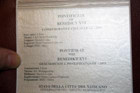 Foto 8 Vatikan 2 EUR Gedenk Münzen ab 2004