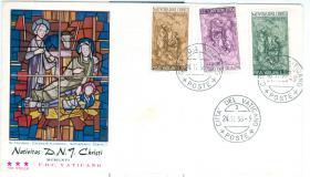 Vatikan Erstagsbrief mit Nr. 514-16 wie auf Bild zu sehen