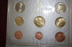 Foto 6 Vatikan Kursmünzensatz 2005 (Papst Paul II.)