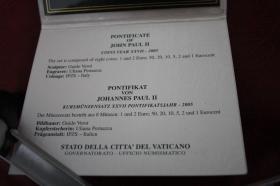 Foto 2 Vatikan Kursmünzensatz 2005 (Papst Paul II.) nur 199 EUR + Porto
