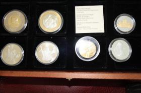 Vatikan Silbermünzen ( teilw. mit Gold ) ab 12 EUR