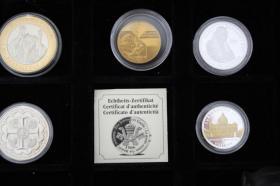 Foto 2 Vatikan Silbermünzen ( teilw. mit Gold ) ab 12 EUR