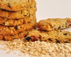 Vegan Haferflocken Vital Beeren Cookies mmm.