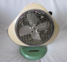 Foto 2 Ventilator - Heizstrahler – 60er - retro – vintage - emailliert - selten - Elekthermax