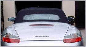 Foto 2 Verdeck Porsche Boxster ab 97 mit Glaasscheibe