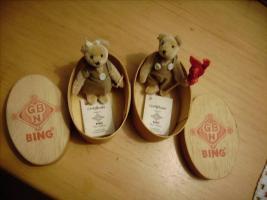 Verkaufe 2 Schuco/Bing Teddybären mit Zertifikat