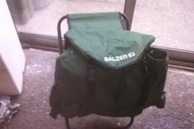 Verkaufe einen Balzer Rucksack mit Hocker