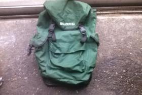 Foto 2 Verkaufe einen Balzer Rucksack mit Hocker