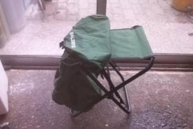 Foto 3 Verkaufe einen Balzer Rucksack mit Hocker