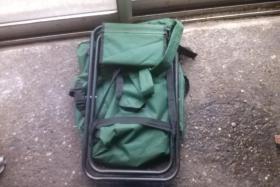 Foto 6 Verkaufe einen Balzer Rucksack mit Hocker