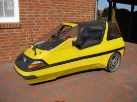 Verkaufe ein City El Fun Cabrio 1-Sitzer mit Kindernotsitz (bi 38kg)