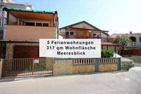 Verkaufe Haus am Meer Insel Vir Kroatien - 5 Wohneinheiten mit Meeresblick