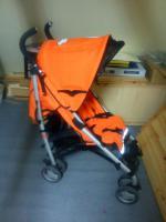 Foto 4 Verkaufe Kinderbuggy Farbe orange mit Blüte