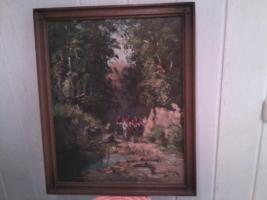 Foto 2 Verkaufe Ölbild von Randolf Wehn (Rarität)