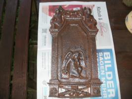 Verkaufe eine Stahlkunstdruckplatte