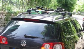 Verkaufe VW Passat Tragstäbe 2 Stk. Original von VW