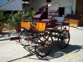 Foto 2 Verkaufe weinroten Marathonwagen