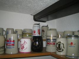 Foto 8 Verschiedene Bierkrüge