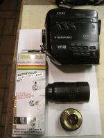 Video-Camcorder, Objektive, Ladegerät Blaupunkt, Kameratasche