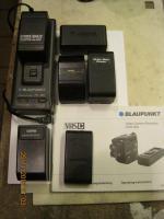 Foto 4 Video-Camcorder, Objektive, Ladegerät Blaupunkt, Kameratasche