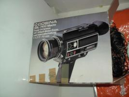 Videokamera Super 8 Cosina SSL 7410 Macro ca. 1971