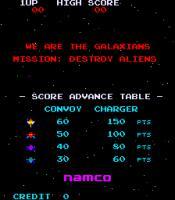 Videospieltischautomat mit Galaxian von Namco
