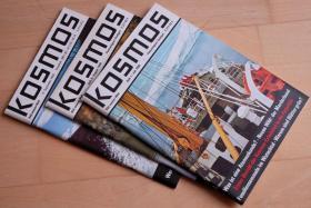 """Viele Ausgaben des Naturmagazins """"Kosmos"""" (1964 – 1995)"""