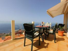 Foto 4 Villa Diamante auf der Kanaren Insel Teneriffa mit Pool und Meerblick
