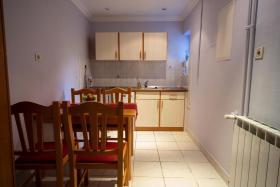 Fewo 2 Küche Villa Lijane mit Pool und Garten bis 8 Personen