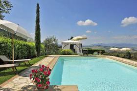 Foto 3 Villa in Montaione (Toskana) mit privaten Pool