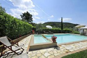 Foto 5 Villa in Montaione (Toskana) mit privaten Pool