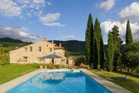 Foto 3 Villa mit privaten Pool in der Toskana