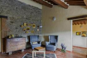 Foto 8 Villa mit privaten Pool in der Toskana