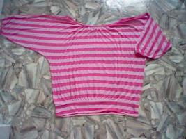 Vintage Sehr schöne Damen-Shirt Rosa / Rosa Größe: L 44