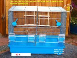 Foto 2 Vogelkäfige für Wellensittiche zu verkaufen
