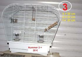 Foto 3 Vogelkäfige für Wellensittiche zu verkaufen