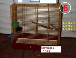 Foto 6 Vogelkäfige für Wellensittiche zu verkaufen