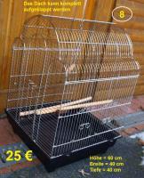 Foto 8 Vogelkäfige für Wellensittiche zu verkaufen