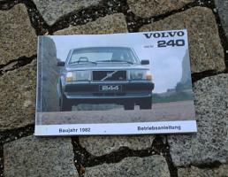 Volvo 240 Betriebsanleitung 1981