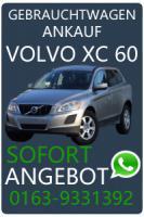 Volvo XC60 Fahrzeug Ankauf - Volvo XC60 Unfallwagen Ankauf