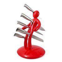 Voodoo Messerblock mit Kultstatus inkl. 5 Designer-Messer *NEU* + OVP aus US-TV-Werbung