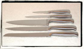 Foto 2 Voodoo Messerblock mit Kultstatus inkl. 5 Designer-Messer *NEU* + OVP aus US-TV-Werbung