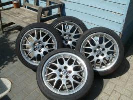 Foto 2 Vw BBS Felgen + Reifen(Sommer)